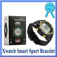 X Montre Smart Watch Bracelet Rétroéclairage WaterProof Podomètre Calling Message Rappeler les données de synchronisation automatiquement pour IOS Téléphone Android VS U8 M26