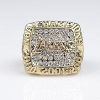 el envío libre de la reproducción 2000 anillo de campeonato de baloncesto Lakers Sólido precio inferior para los aficionados al deporte del envío libre del anillo