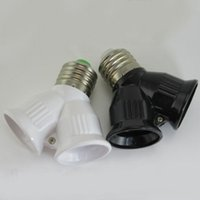 Wholesale Reliable Convenient E27 Base Light Lamp Bulb Socket to Splitter Adapter