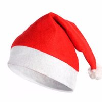 antique top hats - Morden New Santa Claus Hat Christmas Xmas Holiday Lollipop Top Topper Decor Suits for Adult Children