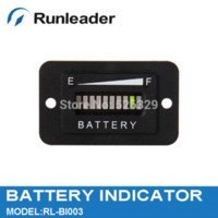 battery for golf car - Lead acid storage battery Car golf carts forklift Battery charge discharge Indicator V led three color display