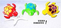 Wholesale Hot New Wind up Swimming Funny Turtle Turtles Pool Animal Toys For Baby Kids Bath Time wd001