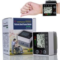 arterial pressure - Household Health Care Electronic Blood Pressure Meter Digital Wrist Blood Pressure Monitor medidor de pressao arterial