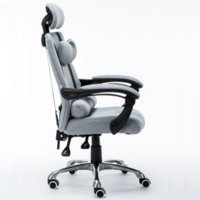 adjustable computer chairs - Home office computer chair net cloth can lie lifting revolving chair staff chair ergonomic chair Cheap chair with adjustable legs