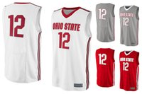 baseball sports apparel - NO Ohio State Buckeyes Men College Basketball Jersey Embroidery Athletic Outdoor Apparel Mens Sport Jerseys Size S XL
