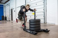 Wholesale Crossfit Core Improvement Speed Sled With Shoulder Harness