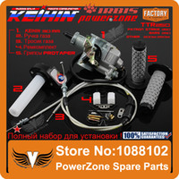 Wholesale KEIHIN mm PZ30 IRBIS TTR250 Tuning Tuned Power Jet Accelerating Pump Carburetor Visiable Twister Dual Cable Repair Kit