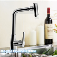 Wholesale New Kitchen Sink Full Copper Water Tap Universal Rotaring Hot and Cold Mixed Washing Dish Basin Faucet