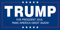 Wholesale DONALD TRUMP FOR PRESIDENT Make America Great Again Bumper Sticker quot X quot to America