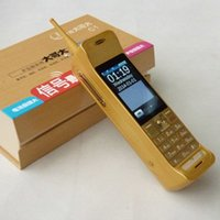 Tv Baratos-Nuevo teléfono celular desbloqueado Retro Nostalgia C1 banda cuádruple doble sim pantalla táctil de larga espera teléfono grande del teléfono de la manera envío libre