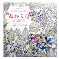Wholesale 2016 PrettyBaby secret garden coloring book painting drawing book Pages Animal Kingdom Enchanted Forest Relieve Stress For Children Adult