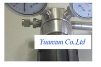 Wholesale Dazhong gas flow pressure reducer L stainless steel double sheet corrosion sophisticated laboratory gas line