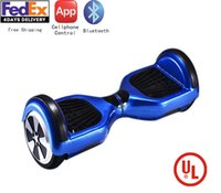 adult motor scooters - 6 inch Newest Wheels Hoverboard Bluetooth Power Board Adult Electrical Scooter Motor Skateboard