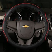 Wholesale High quality new hot sell economical universal inch leather cm diameter car steering wheel cover