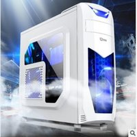 Wholesale Direct selling desktop computer host with side through the game box