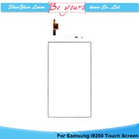 Cheap Touch Screen Digitizer Glass For Samsung Galaxy Mega 6.3 i9200 Sensor Touchscreen Replacement Part with logo Free shipping