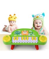 Wholesale New Infant Intelligence Electric Musical Instrument Small Piano Early Childhood Education Music Cartoon Animal Toys Electronic Piano Organ