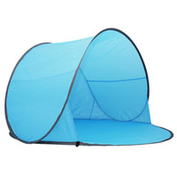 Wholesale camping hiking beach summer tent UV protection fully automatic sun shade quick open pop up fishing tent