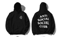 anti long - Warm Kawaii Anti Social Club Palace Anime Men Hoodie Hip Hop Streetwear Hoodie Jogging Men Pullover YEE ZUS Sport Women Hoodies