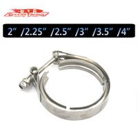 band clamps - SR quot quot quot quot quot Steel Exhaust V Band Clamp Turbo Downpipe Exhaust Clamp Vband