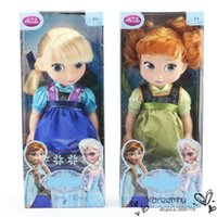 animators collection dolls - Animators Collection Toddler Elsa Anna Princess Doll PVC Action Figure Dolls Toys Gifts In Box