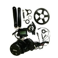 bicycle motor conversion - Bafang fun Mid Drive Central Motor V W BBS02 Latest Controller Crank Motor Eletric Bicycles Trike Conversion DIY Ebike Kits