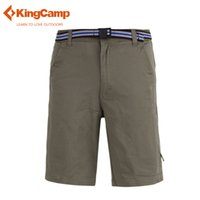 Wholesale KingCamp Summer Men s Outdoor Cotton Performance Classical Hiking Short Ardmore Rugged Work Tactical Short with Elastic Waist