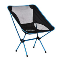 Wholesale fit Fishing Camping Hiking Picnic four stable legs Portable Folding Chair Stool