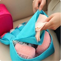 Wholesale Waterproof Women Portable Travel Bra Underwear Lingerie Organizer Bag Cosmetic Makeup Toiletry Wash Storage case