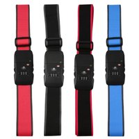 Wholesale 4 colors NEW TSA Lock Bluetooth Luggage Strap for Android for iOS device YKS hot selling