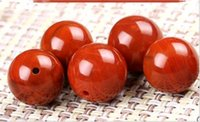 Wholesale 6A Agate Loose Beads Gemstones Round Full flesh flame grain Red Bracelet String Beaded DIY Jewelry Accessories