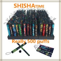 Cheap Shisha Time pen Eshisha Disposable Electronic cigarettes shisha time E cigs 500 puffs 30 type Various Fruit Flavors Hookah pen