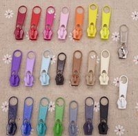 bag zipper repair - 50Pcs Nylon Zipper Pull Slider Head For DIY Repair Pillow Quilt Bedding Bag Colors For Choose