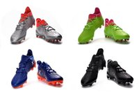 Wholesale Originals MERCURY X PURECHAOS FIRM GROUND FG Soccer Cleats Boots Ace Football Shoes Messi Mens High Ankle Top S79517