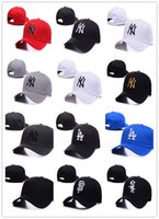 Wholesale 2016 New brand NY Baseball Caps LA Outdoors Snapback Curved Brim Cap Bone Casquette Hip Hop Hats Chapeu Men Women Gorras
