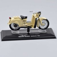 Wholesale ITALERI Scale Moto Guzzi Galletto Vehicle Diecast Miniature Motocycle Model Kids Toys brinquedos Collection Gifts D
