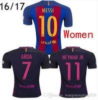 barcelona red - primary home away new season for Barcelona Women Thai Quality Soccer Jerseys Football shirts