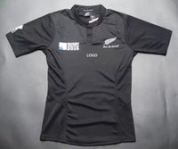 Wholesale Summer New Zealand Rugby Jersey All adult male Black World Cup shirt Super Rugby shirts classic shirts