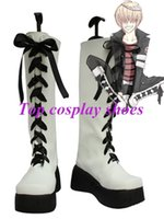 belphegor cosplay - Freeshipping anime Hitman Reborn Varia Member Belphegor Cosplay Boots shoes custom made Hand made for Halloween Christmas