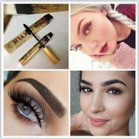 Wholesale Free DHL Kylie Mascara Magic Thick Slim Waterproof Mascara Black Eye Mascara Long Eyelash Charming eyes Cosmetic with Gold Package