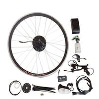 Wholesale DIY Electric Bike Conversion Kit Electric Bicycle Kit Without Battery Convert Bike to E bike Brushless Motor PAS Pedelec CK NB01