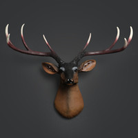 Wholesale Wall decoration wall mural bar simulation deer clothing shop wall decoration wall hanging ornaments