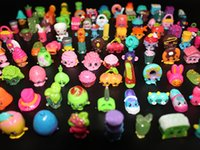 Wholesale Cute Cheap Loose Shopkin Figures Season Shopkin Minifigure Toys Shopping Basket Pretend Play Toys Best Gifts For Kids