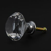 Wholesale Drop Shipping Crystal Pattern Drawer Cabinet Desk Door Pulls Handle Knob Furniture Hardware