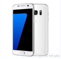 Tv Baratos-GooPhone S7 Octa Core MTK6592 3 GB de RAM 64 GB ROM de Android 6.0.1 Smartphone 5.1 pulgadas 2560 * 1440 que se muestran 4G LTE teléfonos celulares