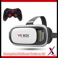 augmented reality - VR BOX D Glasses Enhanced Version Virtual Augmented Reality D Video Glasses For iPhone Smartphone Bluetooth Controller