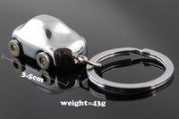 acura model car - Interior Accessories Key Rings M82507 Polished Chrome Silver Classic D Car Model Key Chain Ring Keychain Keyring Keyfob Keyrings
