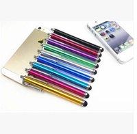 apple iphone advertising - Multi function Capacitance Stylus Apple Phone Touch Screen Stylus Pen Highly sensitive Pens Customized Advertising Pen Free DHL Factoyr