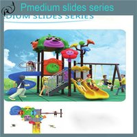 plastic playground - Plastic indoor playground bounce house on sale children outdoor playground Sliding Board plastic slide Slippery slide playhouse