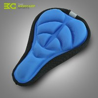 Wholesale New Silicone Gel Saddle Cover D Breathable Bicycle Saddle Comfortable Seat Cover For Mountain Bike Cycling Accessories H5041